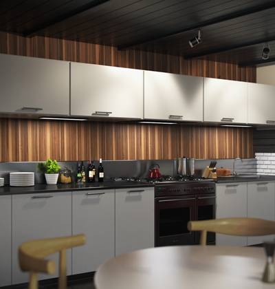 现代家居开放厨房3D模型【ID:517574001】