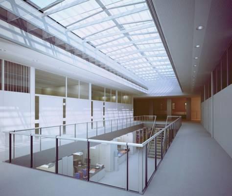 现代商场大厅3D模型【ID:517593640】