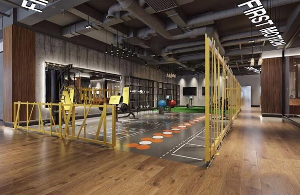 工业风健身房3D模型【ID:927978695】