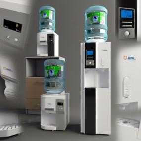 现代饮水机3D模型【ID:127834770】