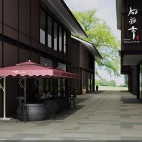 室外建筑3D模型【ID:528004186】