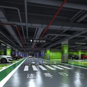 停车场3D模型【ID:520022958】