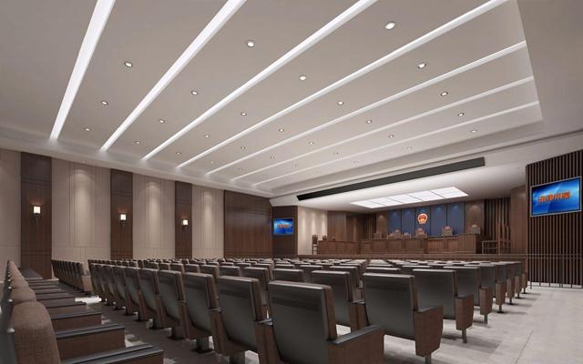 现代大法庭3D模型【ID:528018591】