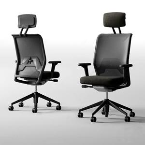 現代辦公桌椅組合3D模型【ID:732387462】