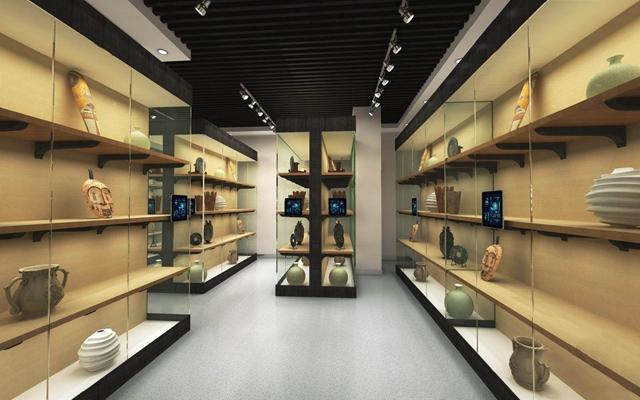 现代储藏室展厅3D模型【ID:528025450】