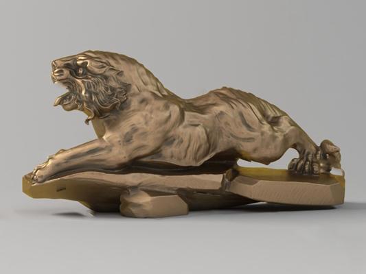 雕塑3D模型【ID:320605843】