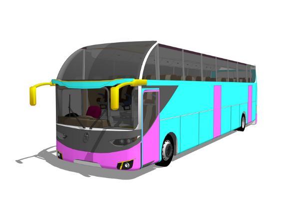 巴士SU模型【ID:846374131】