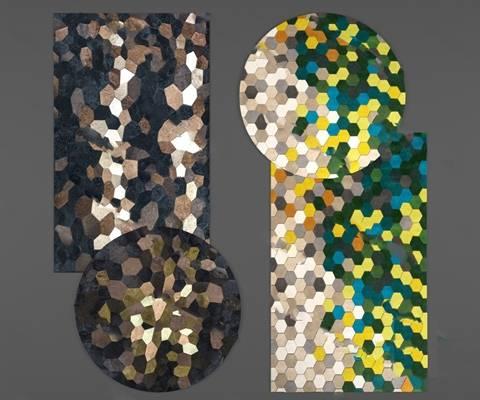 现代地毯3D模型下载【ID:419500038】