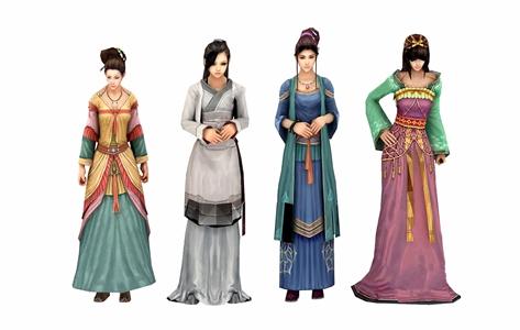 古装人物3D模型【ID:332415044】