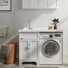 洗衣机伴侣3D模型【ID:127861725】