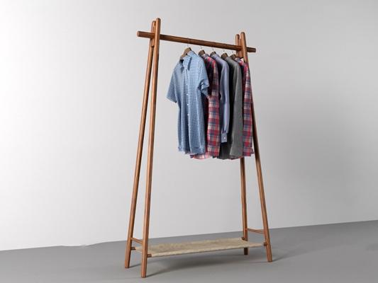 现代衣架衬衣组合3D模型【ID:56867518】