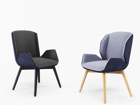 北欧休闲椅3D模型【ID:228236400】