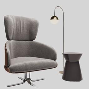 现代办公椅3D模型【ID:228239959】