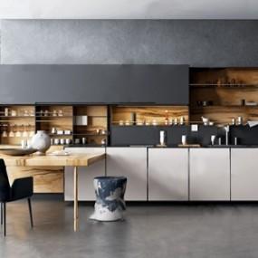北欧厨房 3D模型【ID:541358379】