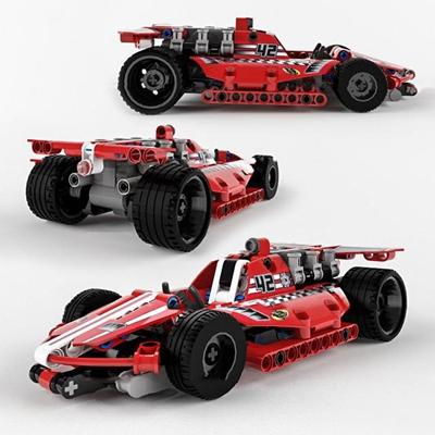 现代乐高方程式赛车玩具3D模型【ID:57031779】