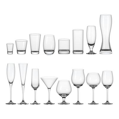 现代玻璃酒杯3D模型