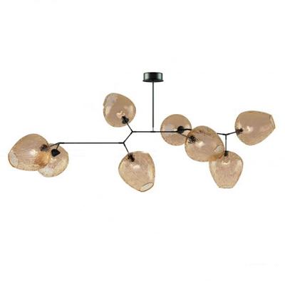 现代龟裂纹玻璃吊灯3d模型【ID:57173588】