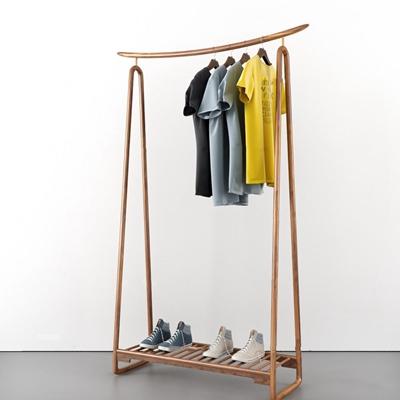 现代T恤衣架鞋子组合3D模型【ID:57176211】