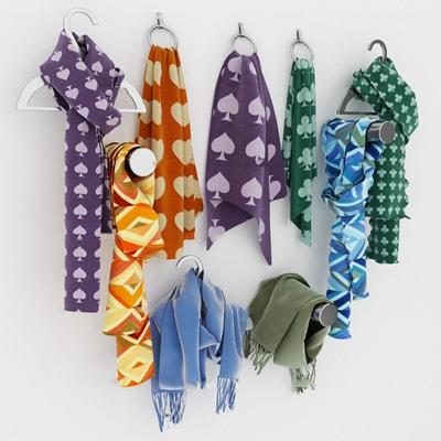 现代围巾组合3D模型【ID:57234916】