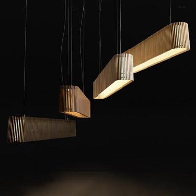 新中式实木吊灯3D模型【ID:519681841】