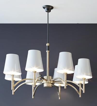 现代时尚吊灯灯具组合3D模型【ID:57245388】