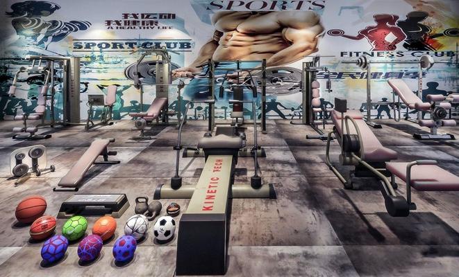健身器材3D模型【ID:928048537】