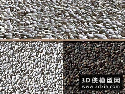 鵝卵石國外3D模型【ID:329396308】