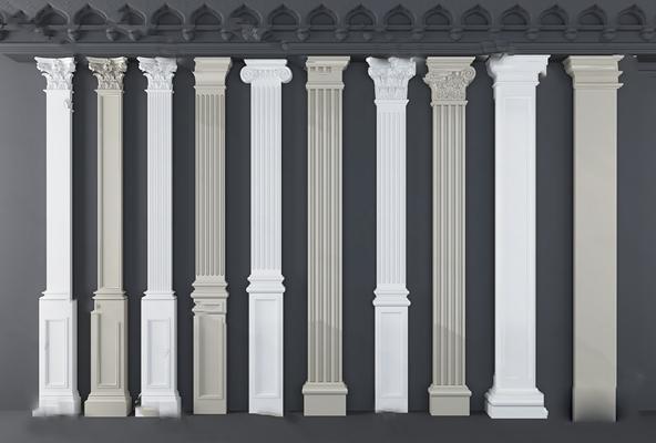 罗马柱3D模型【ID:324884331】
