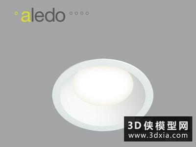 射燈國外3D模型【ID:929426122】
