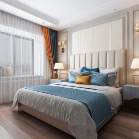 现代卧室3D模型【ID:128415317】
