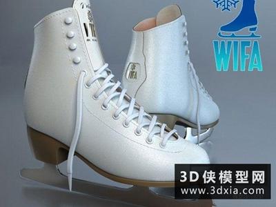 溜冰鞋國外3D模型【ID:129348832】