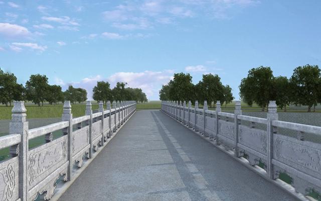 现代桥3D模型【ID:124890393】