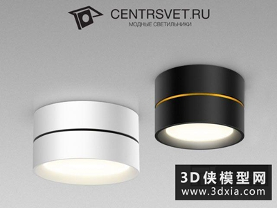 射燈國外3D模型【ID:929528102】