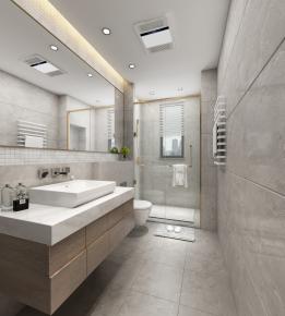 现代浴室卫生间3D模型【ID:927825527】