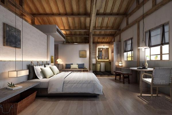 现代卧室3D模型【ID:427985603】