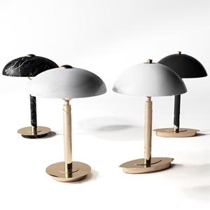 现代金属台灯3D模型【ID:841631129】