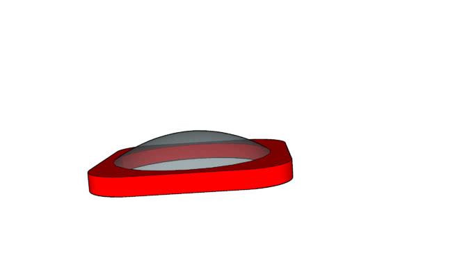 游戏设备圆顶(圆形)SU模型【ID:939790352】