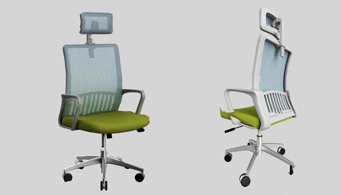 现代办公椅3D模型【ID:220615910】