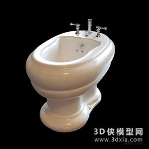 婦洗器國外3D模型【ID:929856981】