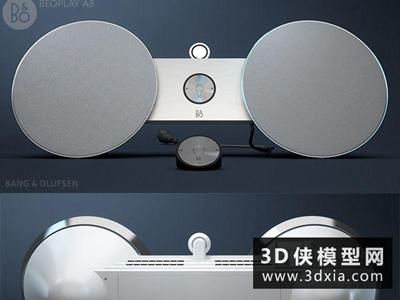 音响国外3D模型【ID:229382096】