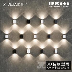 壁燈國外3D模型【ID:829308881】