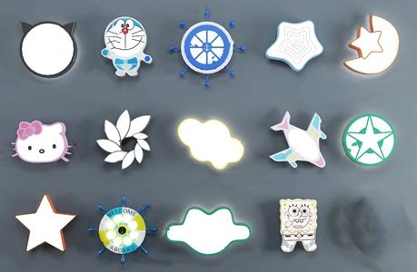 现代儿童吸顶灯3D模型【ID:832394000】