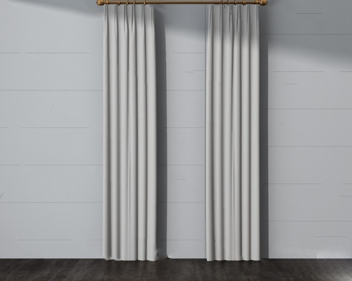 现代窗帘3D模型【ID:720618609】