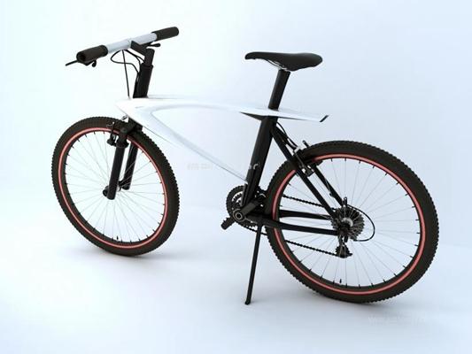 樂視自行車3D模型【ID:928171196】