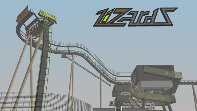 Lizardz杯垫SU模型【ID:739804570】
