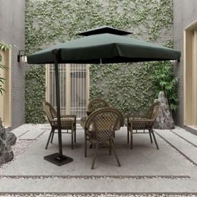 新中式院子景观阳台3D模型【ID:928336953】