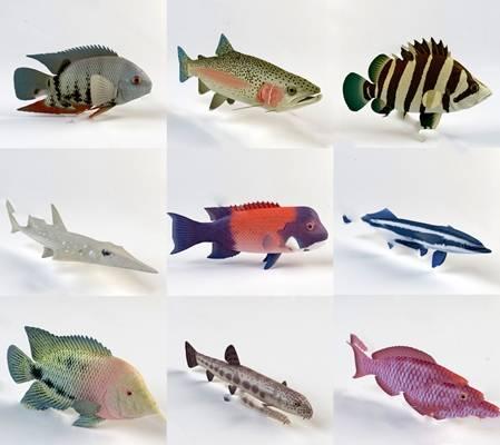现代鱼3D模型下载【ID:819605839】