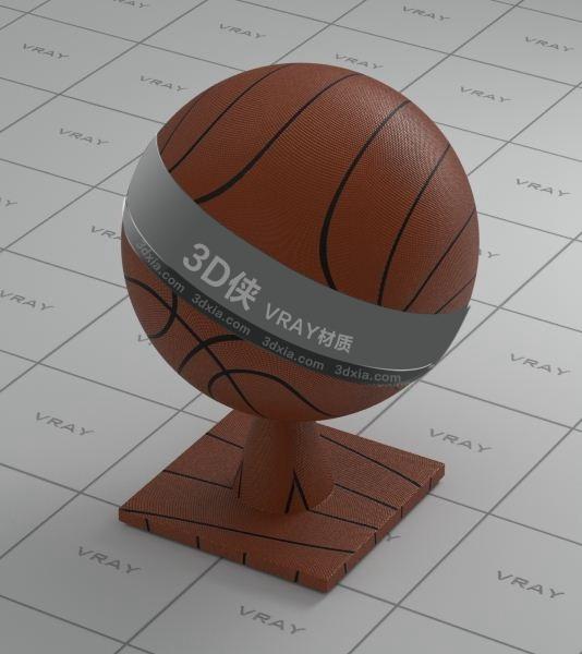 篮球Vray材质【ID:836449623】