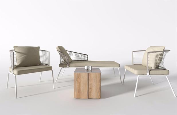 北欧户外椅3D模型【ID:328246376】