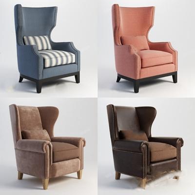 单人沙发3D模型【ID:920012620】